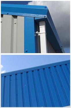 box steel profile sheeting for roofing and cladding