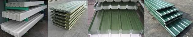 cladding box profile steel sheets