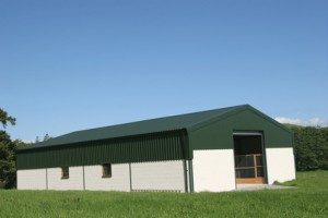 sheds for farming applications