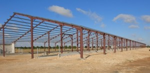 steel framed big sheds